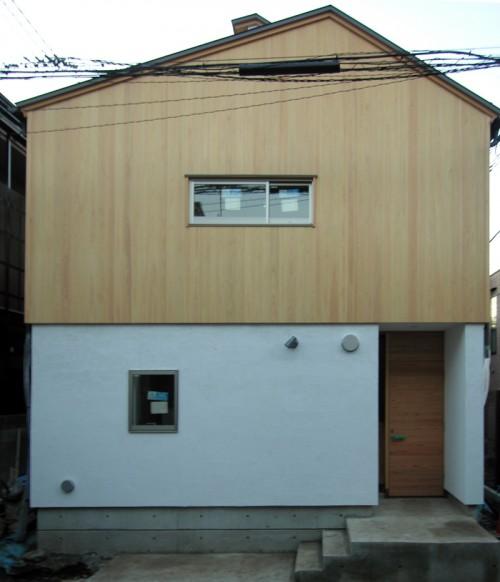 高円寺の家外観121109
