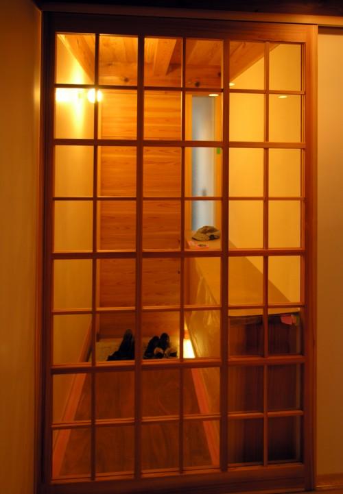 高円寺の家玄関121109