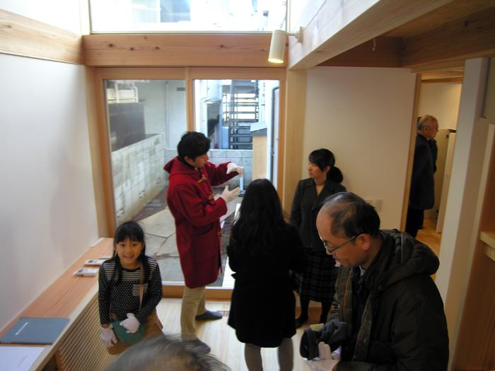 木組みの家「高円寺の家」完成内覧会の様子