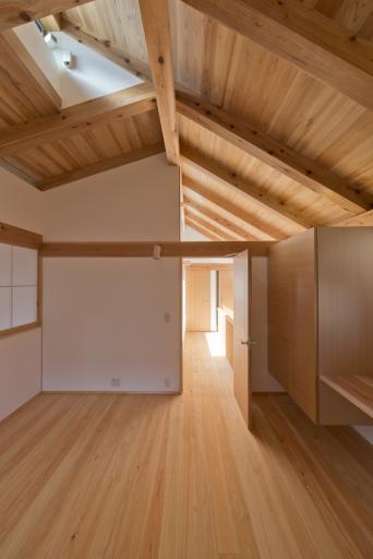 木組みの家「高円寺の家」寝室