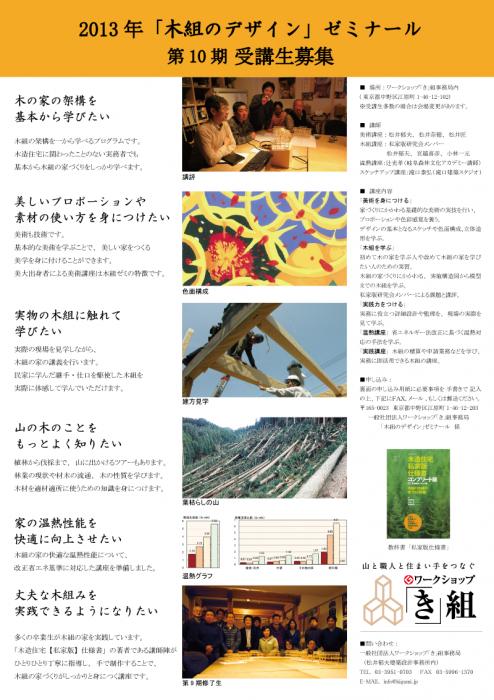 2013木組ゼミ