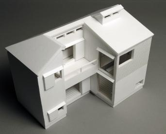 木組みの家「高円寺の家」1:50模型