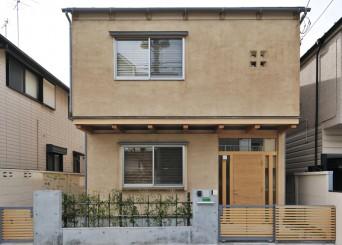 お友達の家。「小竹の家」外観写真です