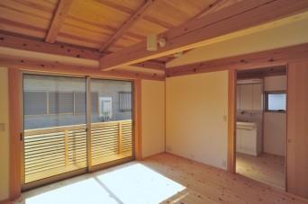 木組みの家「小竹の家」内観写真