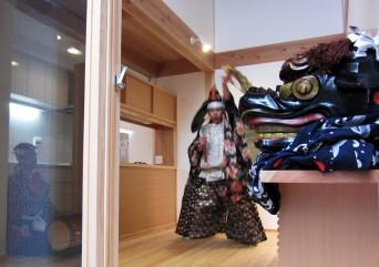 木組みの家「高円寺の家」たまいれの儀