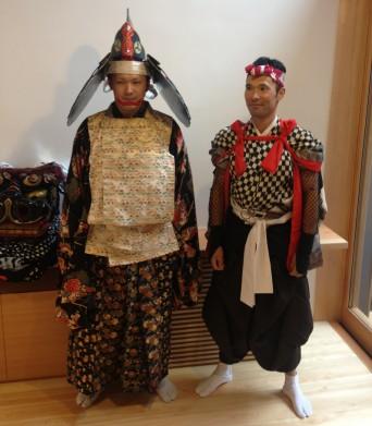 木組みの家「高円寺の家」たまいれの儀衣装