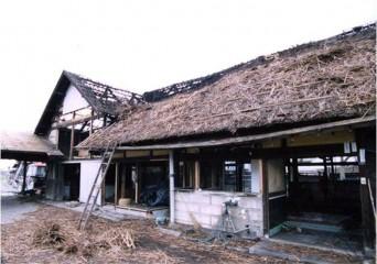 解体前の古民家