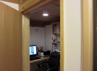 木組みの家「高円寺の家」書斎