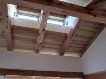 木組みの家「高円寺の家」越し屋根