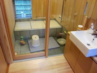 木組みの家「高円寺の家」浴室
