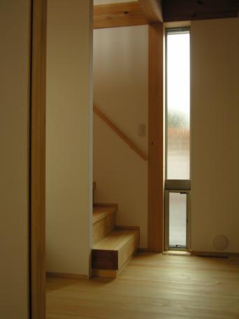 木組みの家「高円寺の家」階段の仕掛