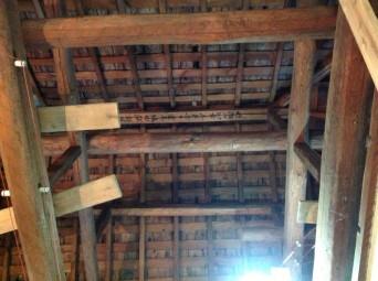 古民家再生「南房総の民家再生」解体小屋裏