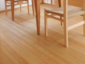 木組みの家「高円寺の家」食事室床