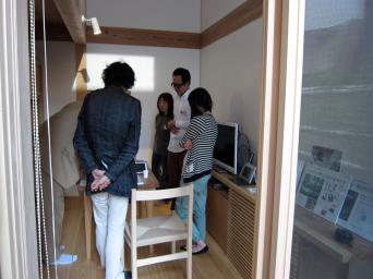 木組みの家「高円寺の家」お住まい内覧会の様子2