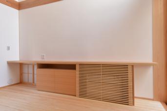 木組みの家「高円寺の家」エアコン設置の工夫