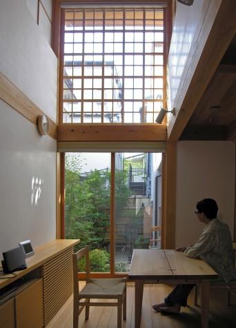 木組みの家「高円寺の家」ダイニング