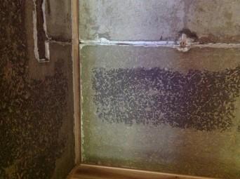 古民家再生「南房総の家」土壁漆喰おさえ