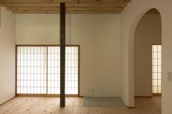 南房総の古民家再生竣工「居間」