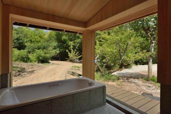 南房総の古民家再生竣工「浴室」