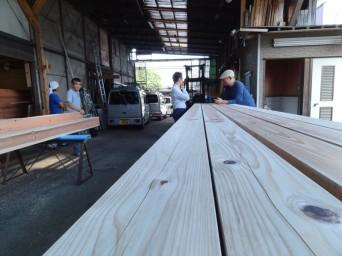木組みの家「吉祥寺の家3」材木検査