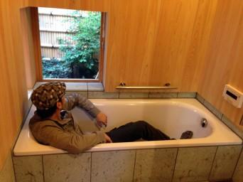 木組みの家「高円寺の家」風呂131010