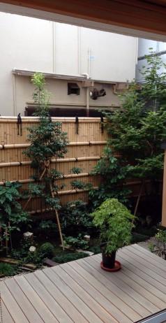 木組みの家「高円寺の家」庭131010