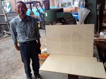 木組みの家「我孫子の家2」3材木検査131016