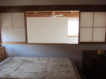 140403「木組の家に住んで」寝室