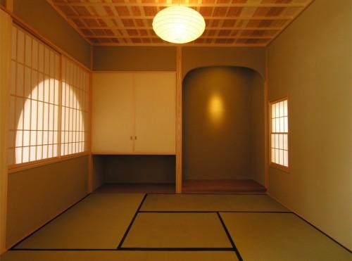 木組みの家「吉祥寺の家3」茶室140409