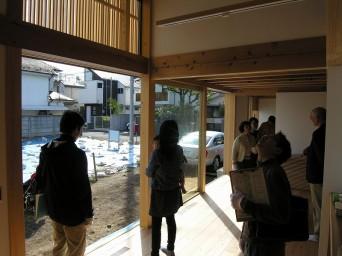 木組みの家「吉祥寺の家3」完成内覧会140412_