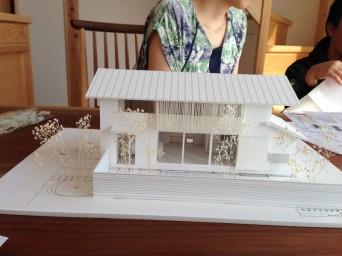 お庭の模型