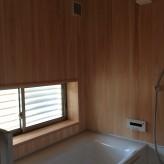 木組みの家「我孫子の家2」完成内覧会浴室