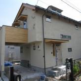 木組みの家「八王子の家」外観140620