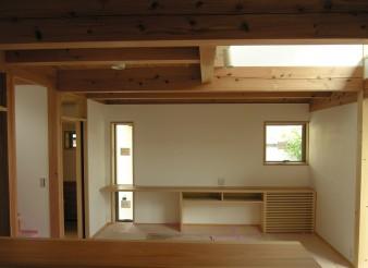 木組みの家「八王子の家」居間140620