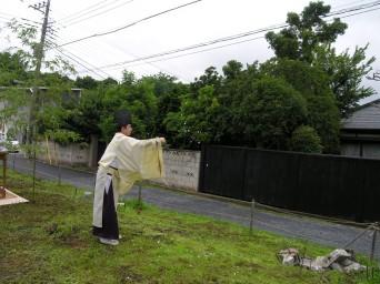 木組みの家「佐倉の平屋」地鎮祭