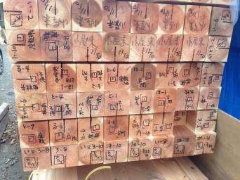 木組みの家「佐倉の平屋」下小屋見学3