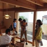木組みの家「吉祥寺の家3」お住まい見学会の様子2
