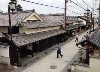 篠山の歴史的町並み
