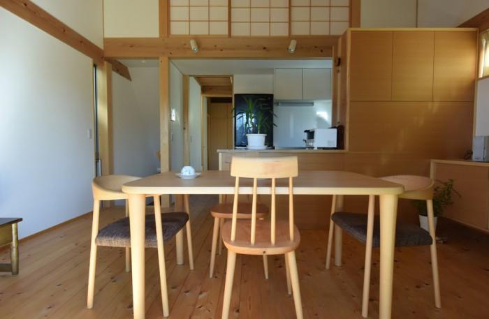 木組みの家「登戸の家」居間2