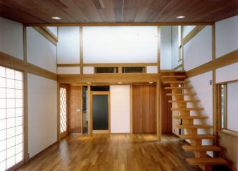 江古田の家リビング