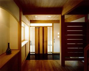 江古田の家玄関