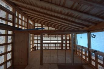 木組みの家「松本城のみえる家」構造見学会報告2