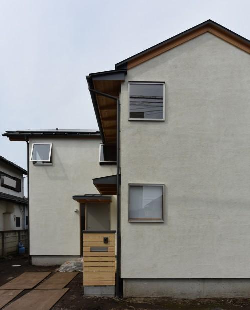 木組みの家「深大寺の家」完成時外観