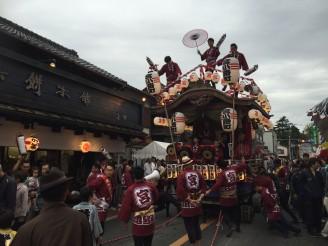 佐倉秋祭り山車