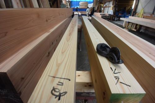 木組の家「阿佐ヶ谷の家」材木検査番付