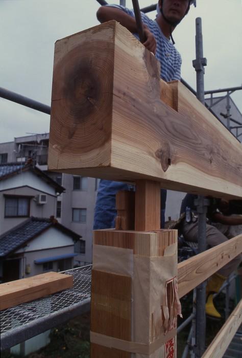 木組みの仕口