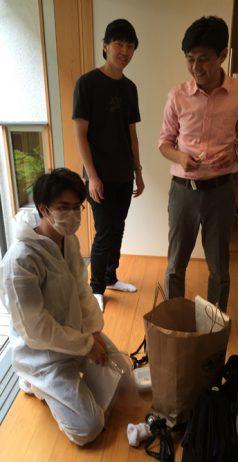 中島研究室による床下結露調査