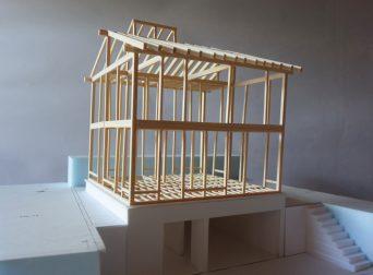 最終案の架構模型
