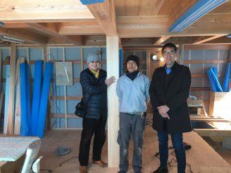 東馬込の家 吉野中央木材訪問